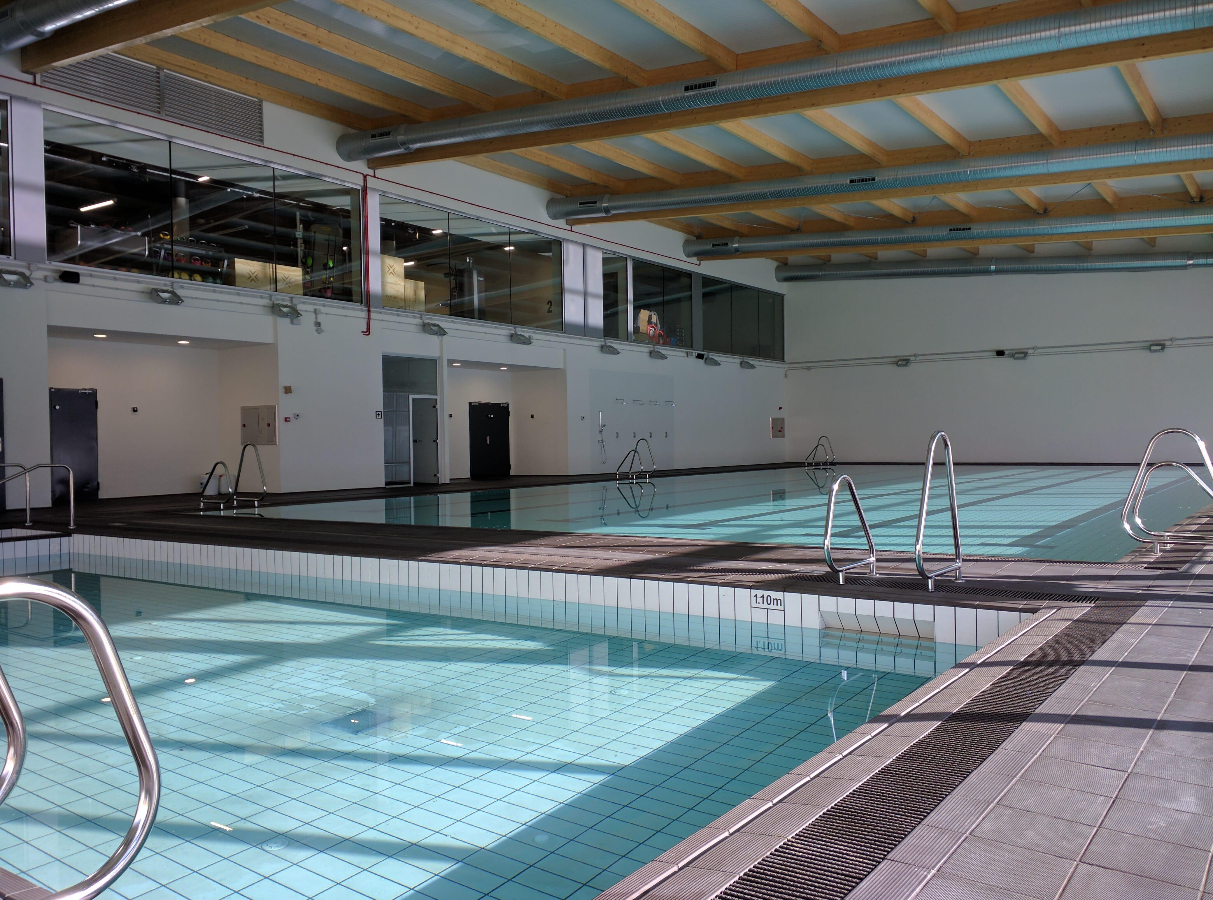 Fin de obra go fit santander opincan for Go fit piscinas san miguel