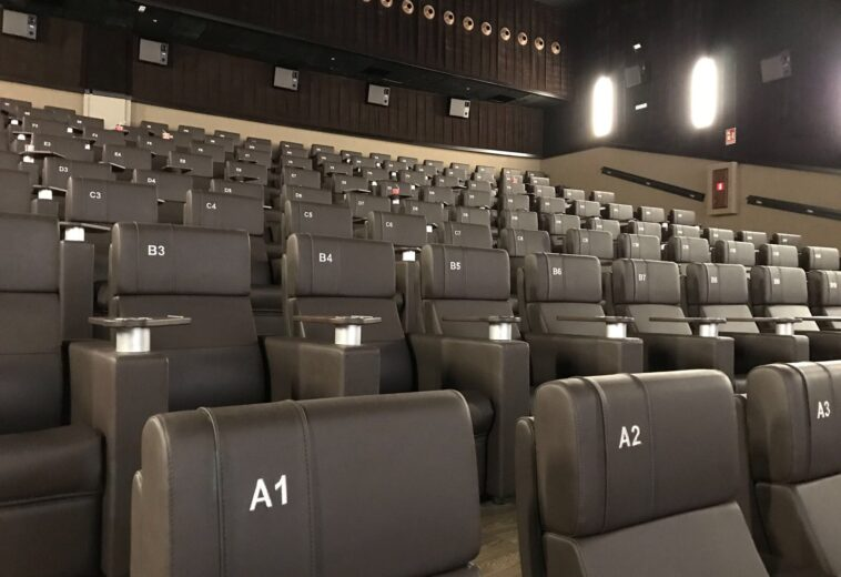 Salas de cine Yelmo en el Centro Comercial Alisios