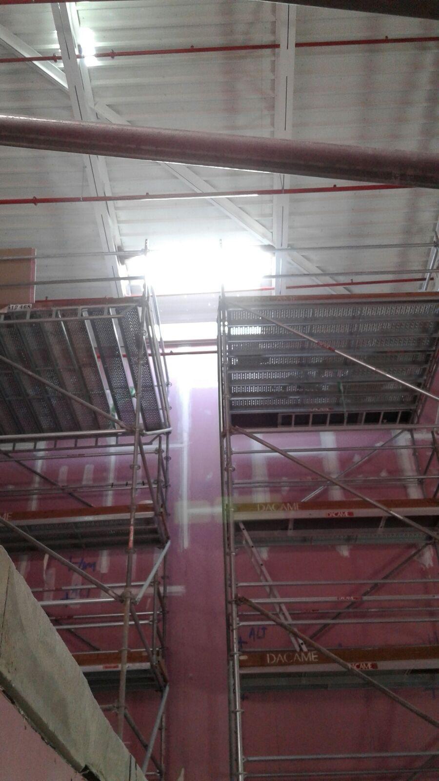 Opincan - Salas de cine Yelmo en el Centro Comercial Alisios - Obras 18