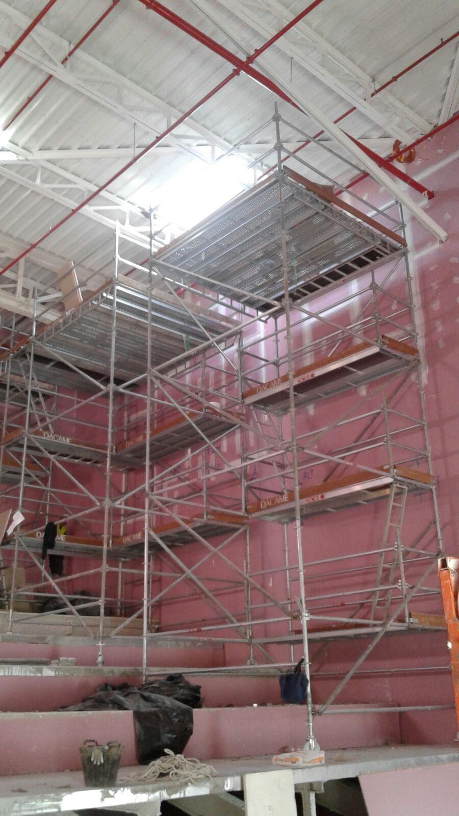 Opincan - Salas de cine Yelmo en el Centro Comercial Alisios - Obras 19