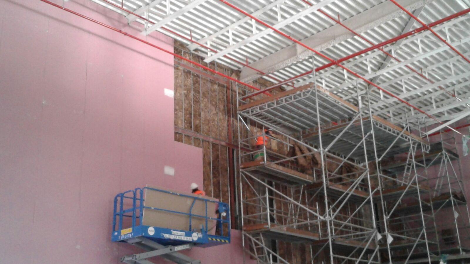 Opincan - Salas de cine Yelmo en el Centro Comercial Alisios - Obras 22