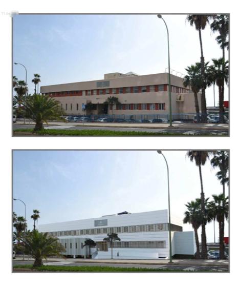 Opincan - rehabilitación del edificio del Instituto Canario de Seguridad Laboral