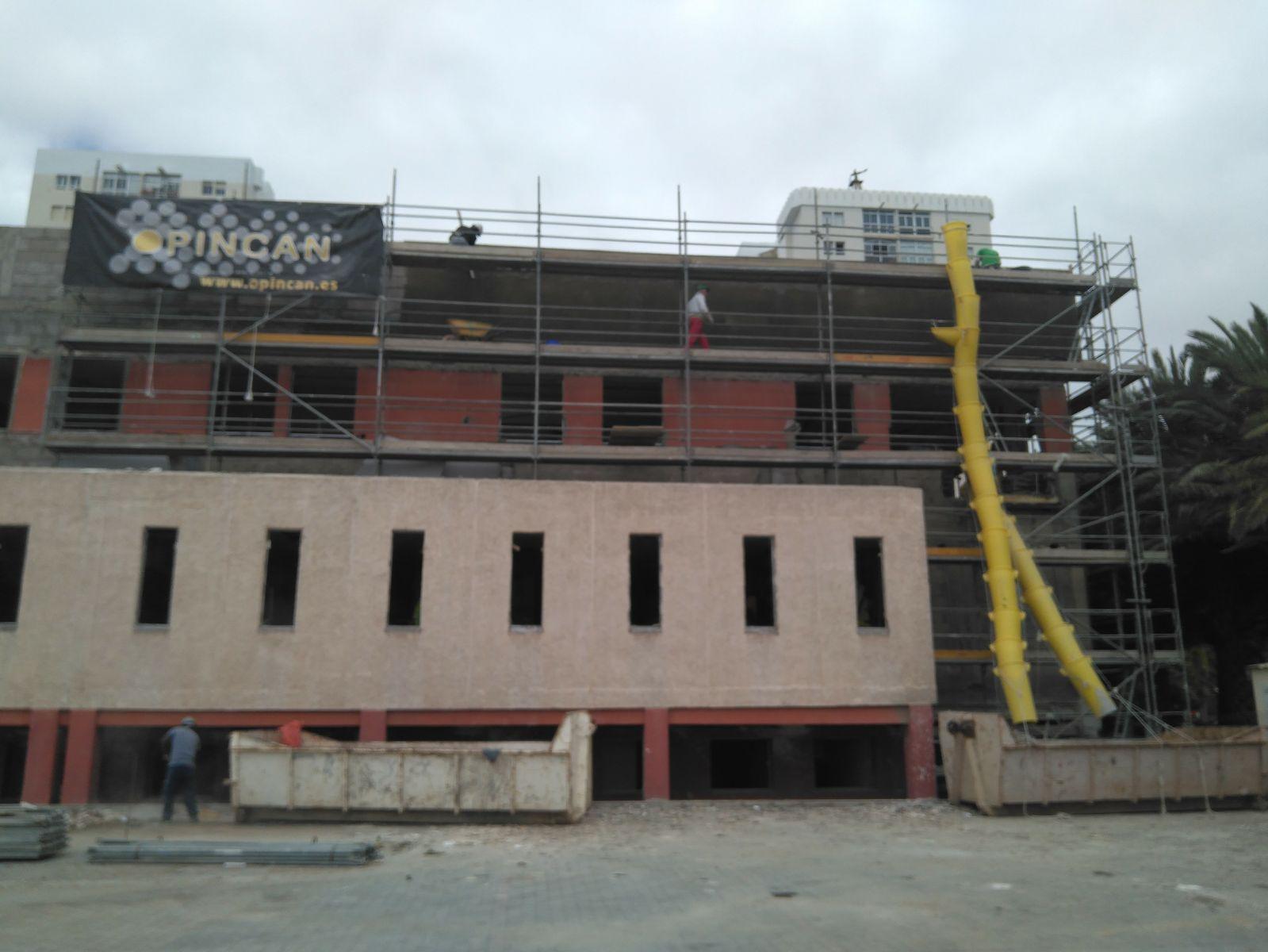 Obras en los edificios de ICASEL y SEMAC