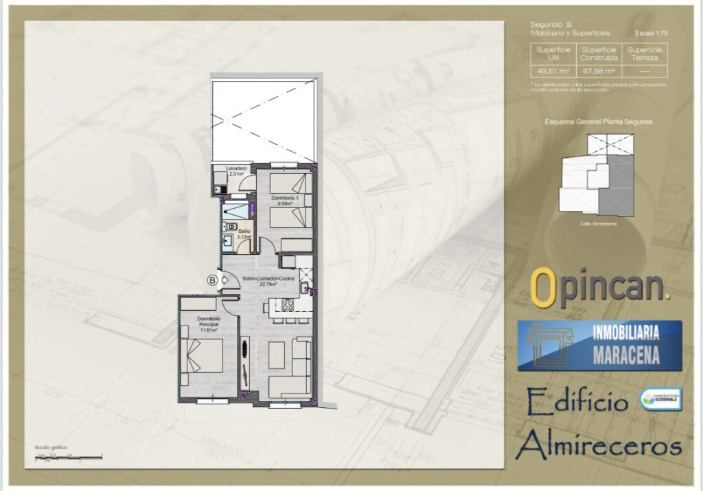 Esquema general planta - Residencial ALMIRECEROS - Opincan