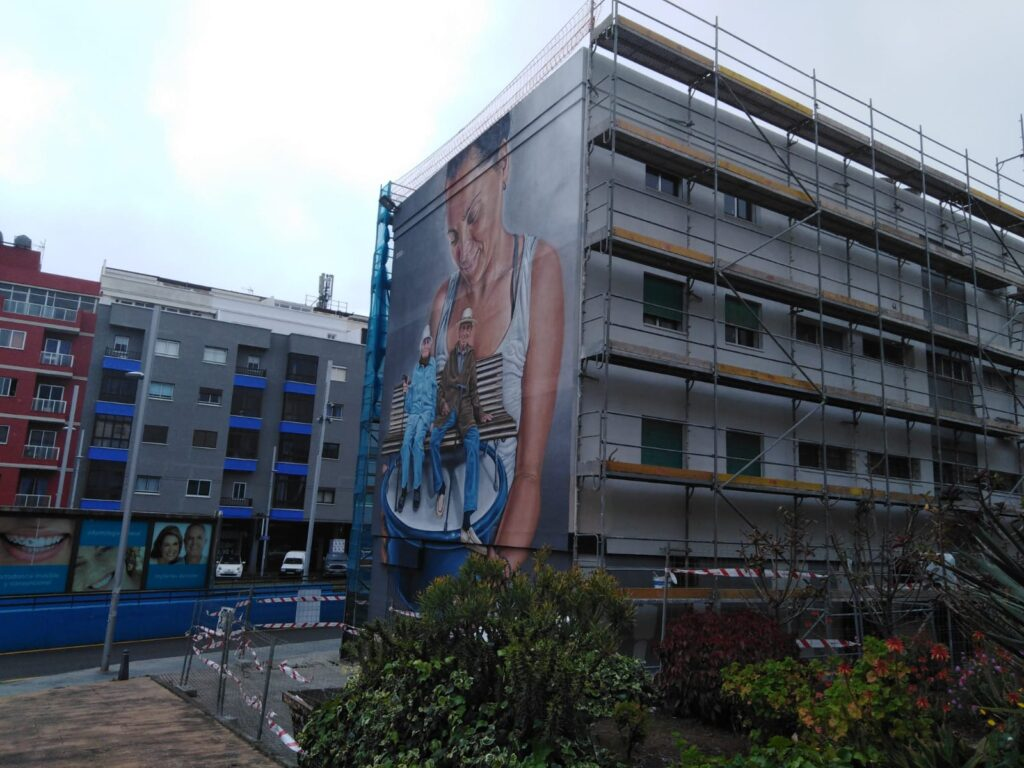 Opincan - Rehabilitación de cinco bloques de viviendas, en La Laguna, Tenerife