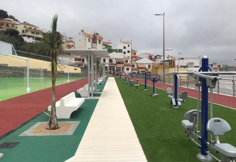 Rehabilitación del parque urbano Manuel Verona, en Teror, Gran Canaria.
