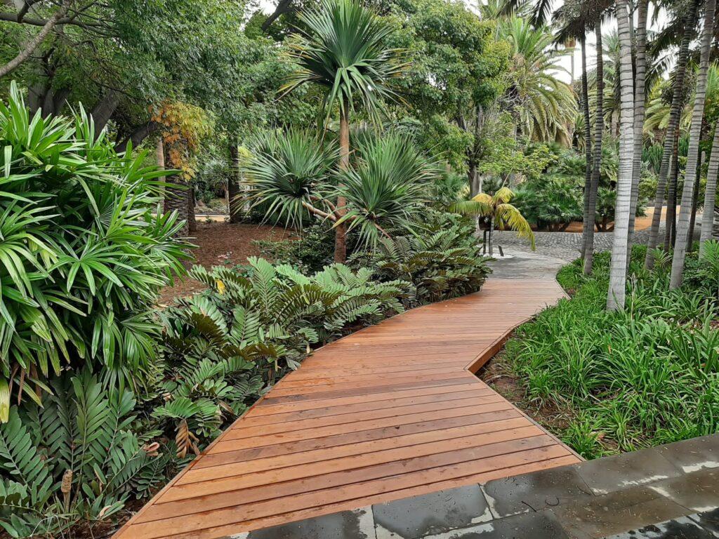 Opincan - Rehabilitación de los paseos de madera del Parque García Sanabria