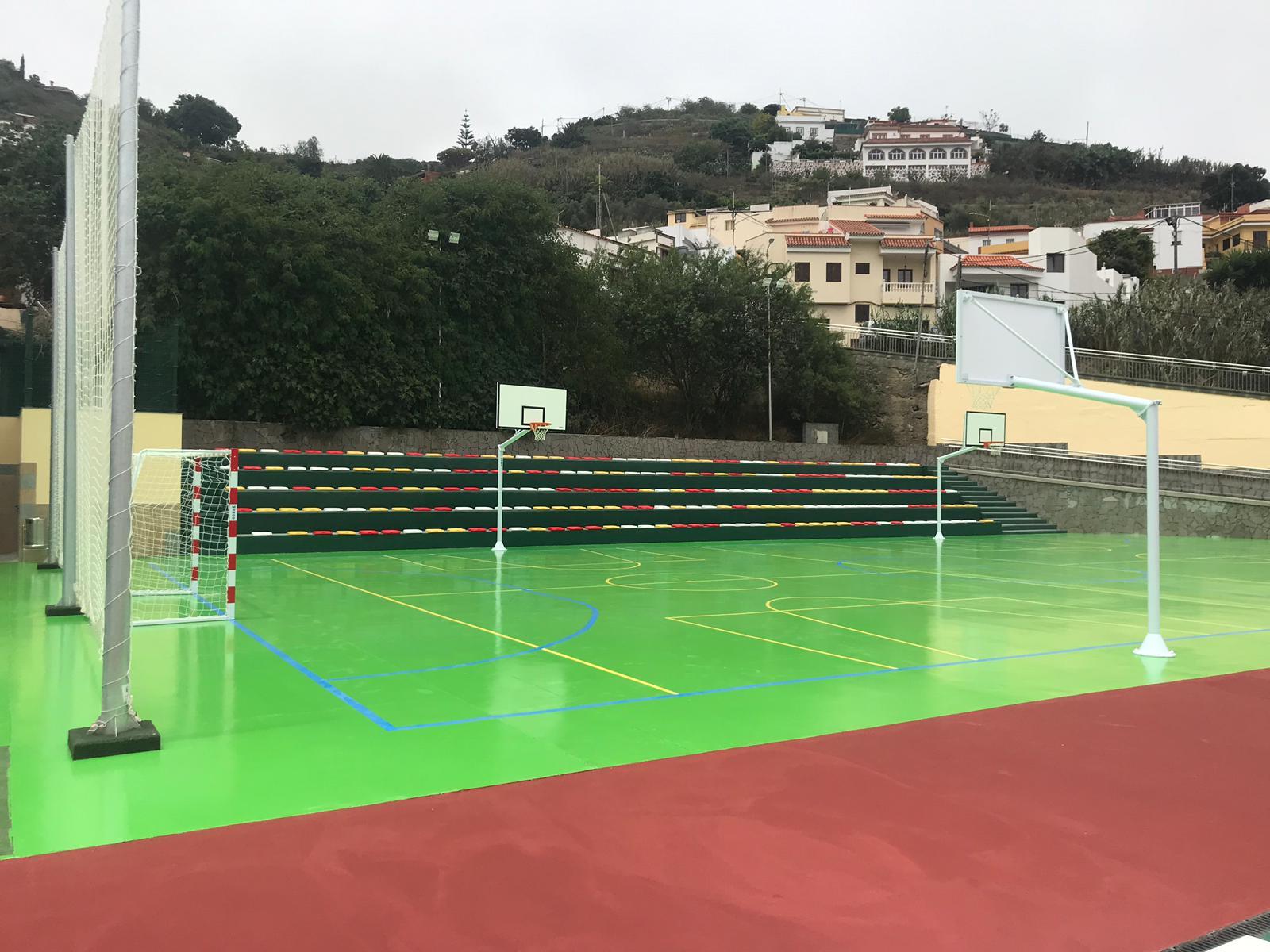 Opincan - Rehabilitación del parque urbano Manuel Verona, en Teror, Gran Canaria.