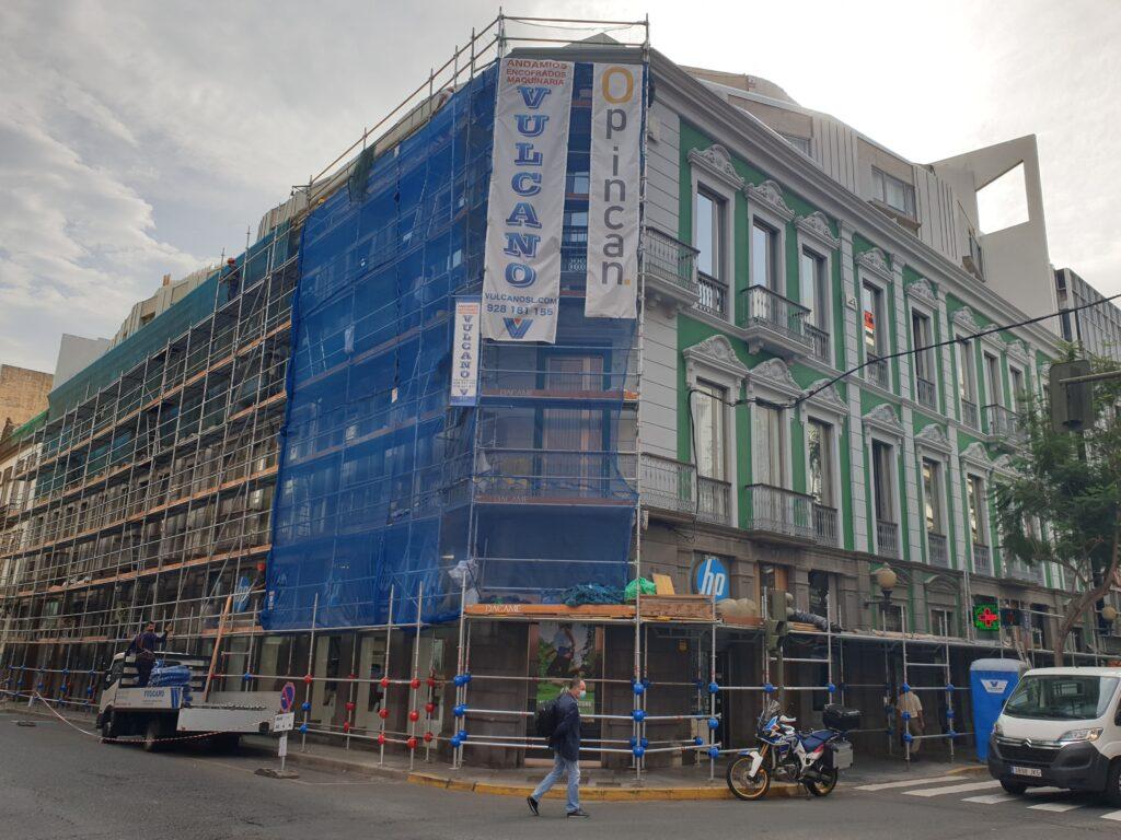 Opincan - Reparación de fachadas Edificio Brigantium