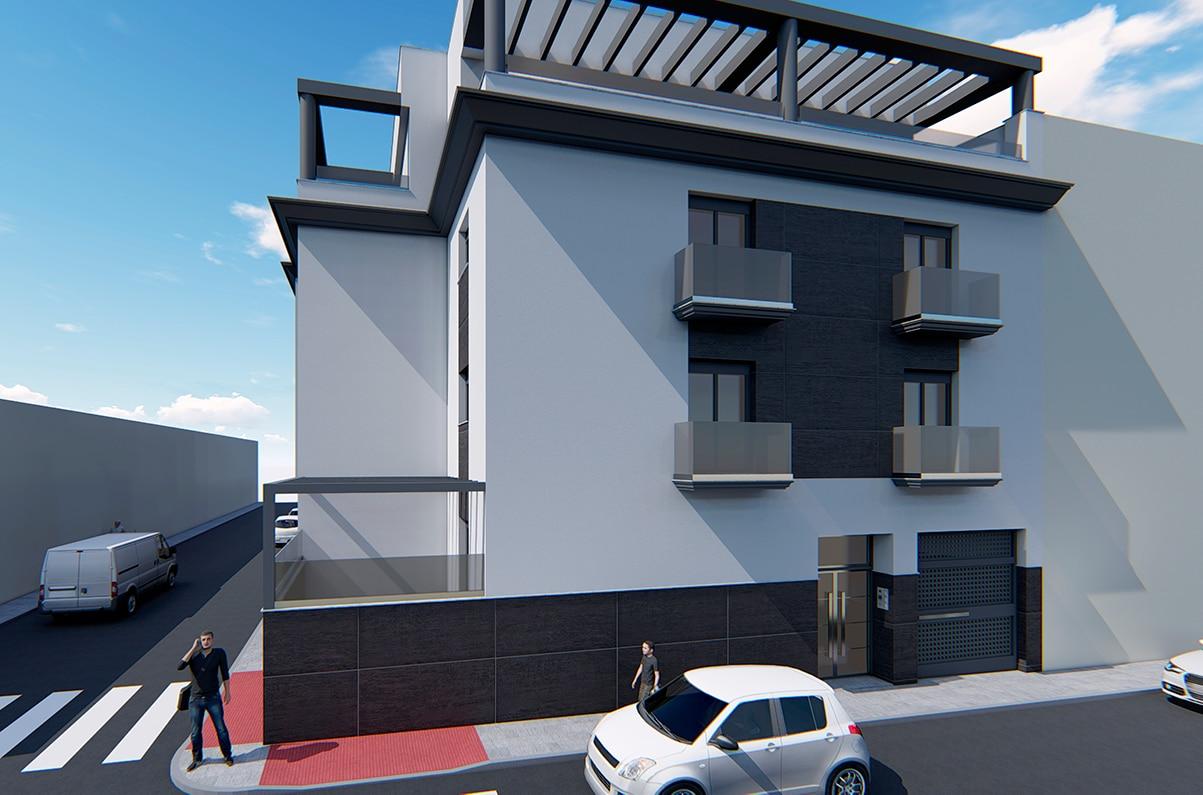 Promoción 9 viviendas en Maracena - Opincan