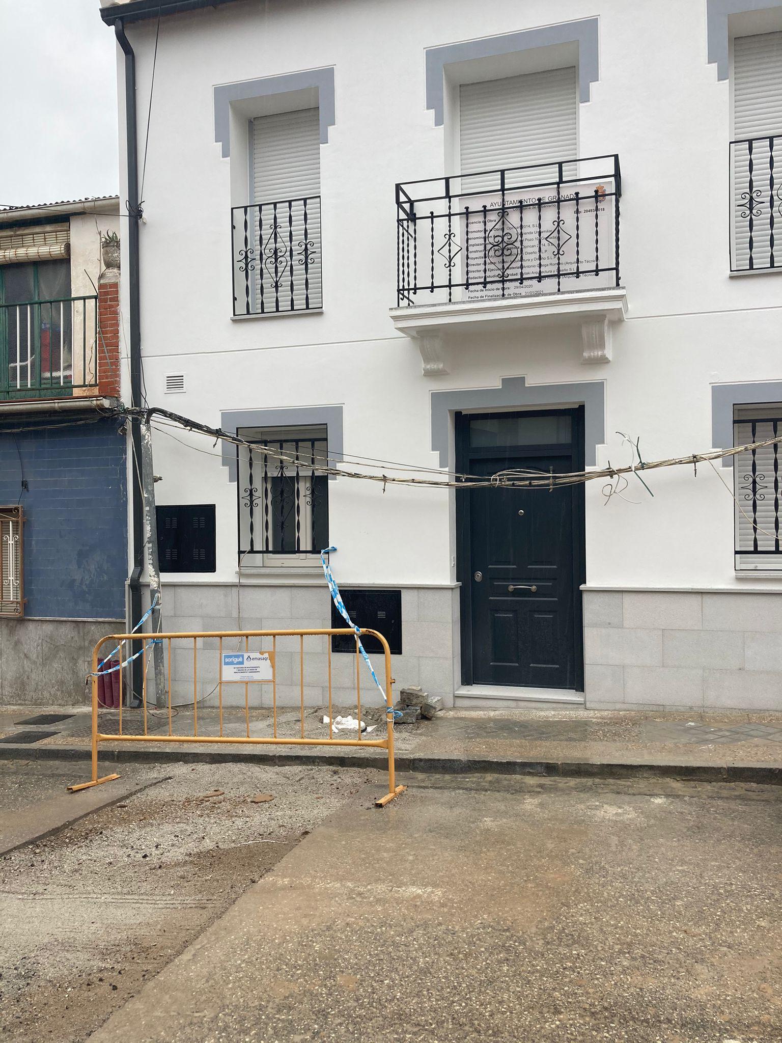 Opincan - Reforma vivienda unifamiliar en calle Honda del Pozo. Granada